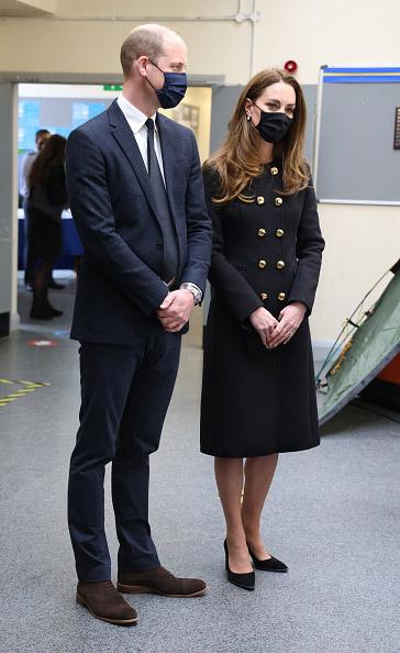 duques de cambridge fuerzas aéreas kate middleton príncipe william