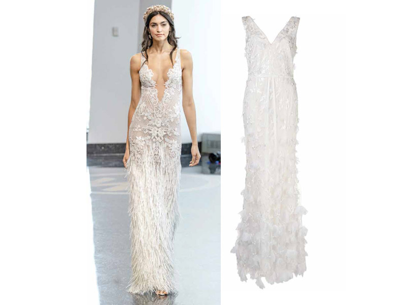 nuevos estilos del vestido de novia 2021 moda
