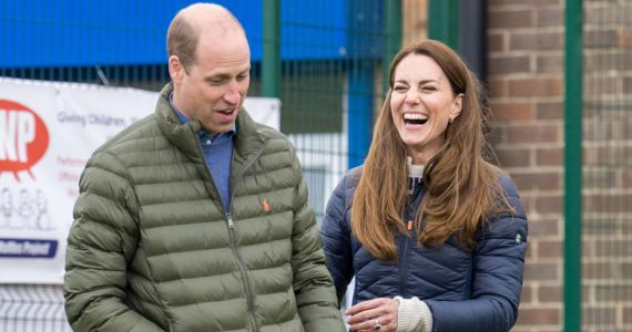 kate middleton y príncipe william visitan granja