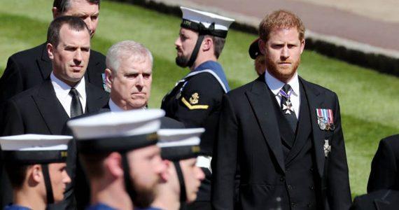 meghan markle harry funeral felipe de edimburgo