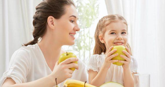 hábitos alimenticios niños sanos