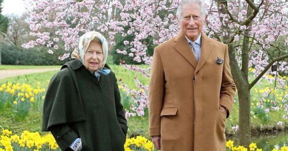 pascua 2021 de la reina isabel y el principe carlos
