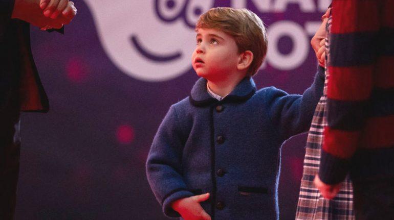 príncipe louis próximo cumpleaños 3 años