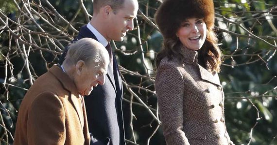 kate middleton príncipe william y felipe de edimburgo palabras