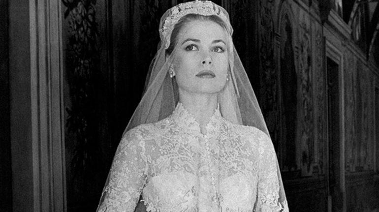 vestido de novia grace kelly aniversario de bodas 65 príncipe raniero
