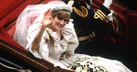 vestido de novia princesa diana en exhibición kensington palace