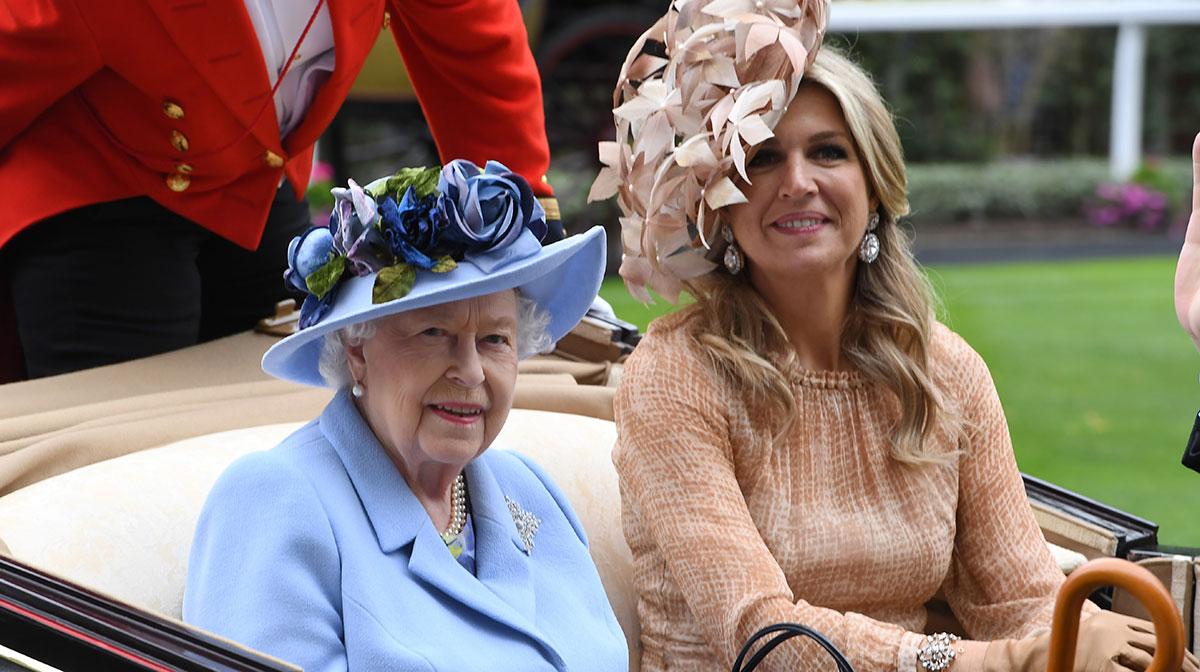 Reina Isabel y Máxima de Holanda