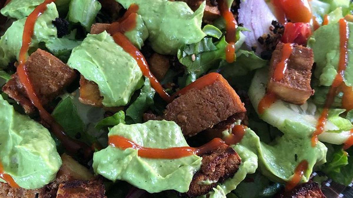 Tofu al jengibre