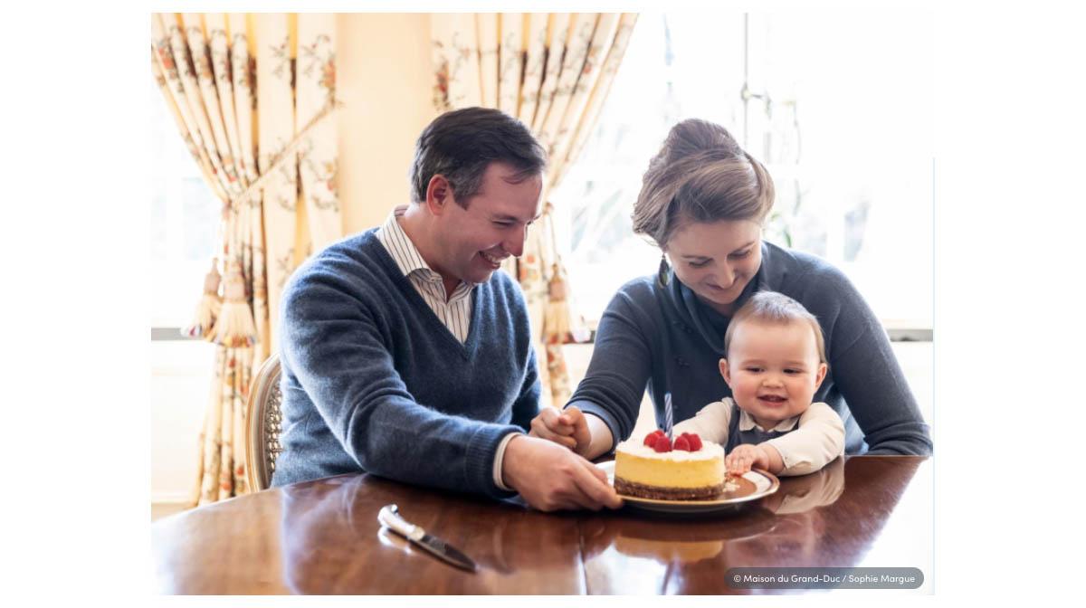 charles de luxemburgo primer cumpleaños
