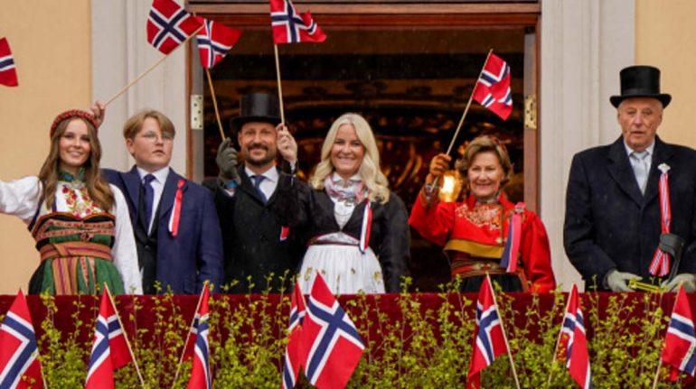 día de noruega 2021 familia real de noruega