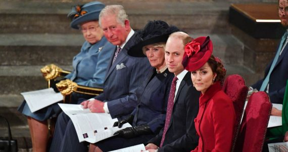 kate y william carlos y camilla