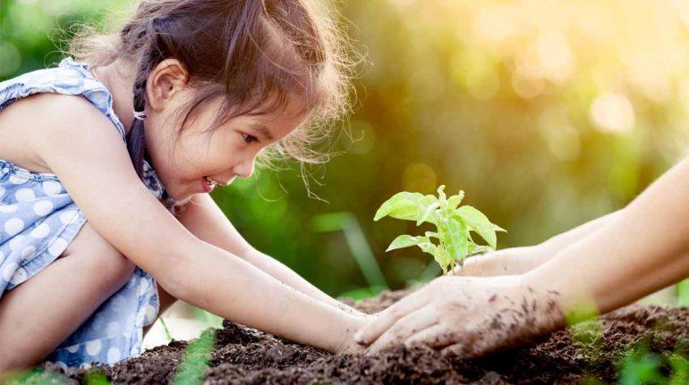 'Green' desde pequeños: cómo educar a los niños sobre el medio ambiente