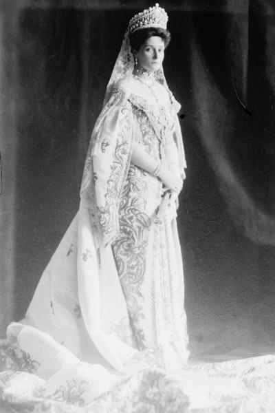 Vestido de novia de Alejandra Románov