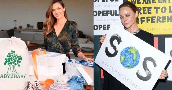 De Jessica Alba a Stella McCartney: personalidades con iniciativas a favor del ambiente