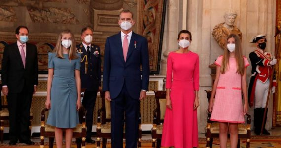 Letizia e hijas unidas: así se vivió el 7º aniversario de la coronación de Felipe VI