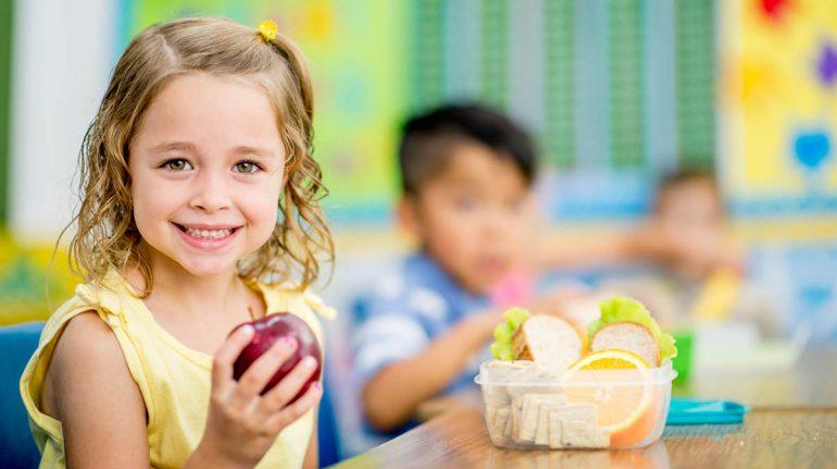 fibra para los niños dieta y alimentación