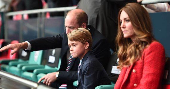 kate middleton príncipe william príncipe george eurocopa alemania inglaterra