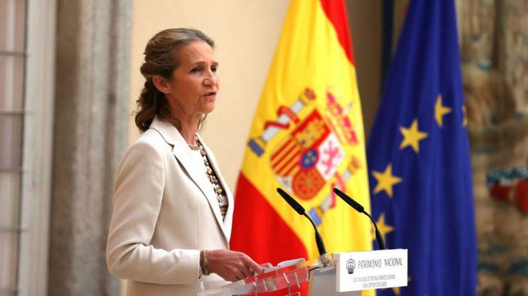 Dos años después, la infanta Elena regresa a la Casa Real Española
