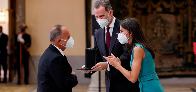 Fotos del emotivo evento donde los reyes de España entregaron las Medallas en Bellas Artes