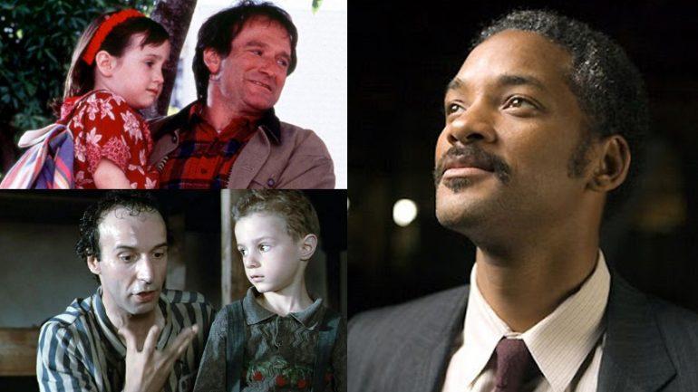 Papás famosos en el cine