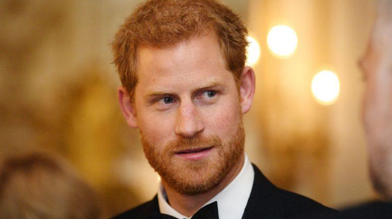 príncipe harry en reino unido evento