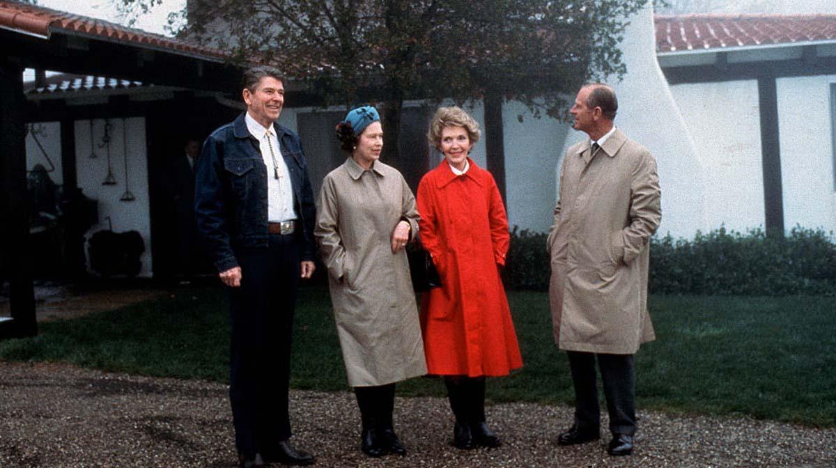 Isabel II y Ronald Reagan: la divertida amistad entre un político y la longeva monarca