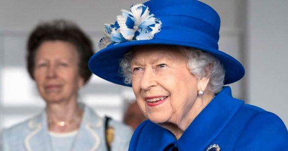 reina isabel ii princesa ana escocia