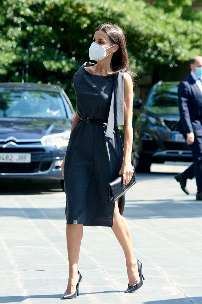 Este es el especial significado del vestido de Letizia: solidario y 'made in Spain'