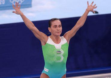 Tokio 2020: la gimnasta Oksana Chusovitina demuestra a sus 46 que la edad es solo un número