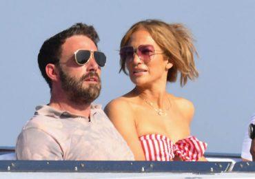 Las románticas (y fashionistas) vacaciones de Jennifer Lopez y Ben Affleck por Italia