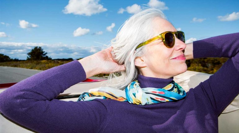 lentes de sol mujer madura