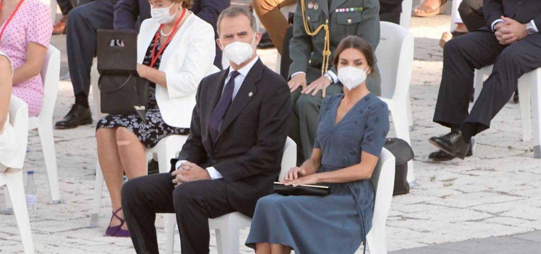 reina letizia y felipe homenaje victimas covid-19