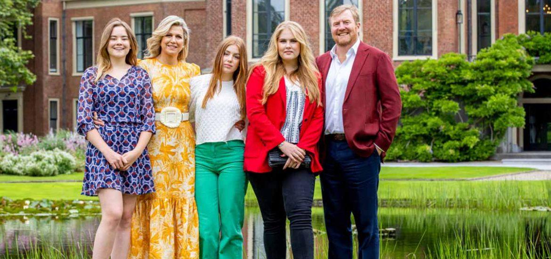 Máxima de Holanda y su familia sorprenden con nuevas (y muy coloridas) fotografías