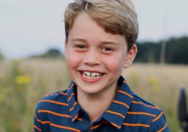 cumpleaños 8 príncipe george