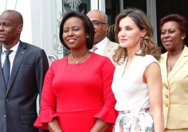 Cuando Letizia conoció a Jovenel Moïse en 2018, el presidente de Haití asesinado a tiros